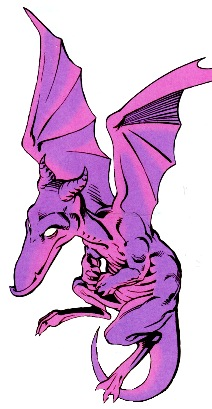 Not your typical pet dragon, Lockheed's kind of a badass