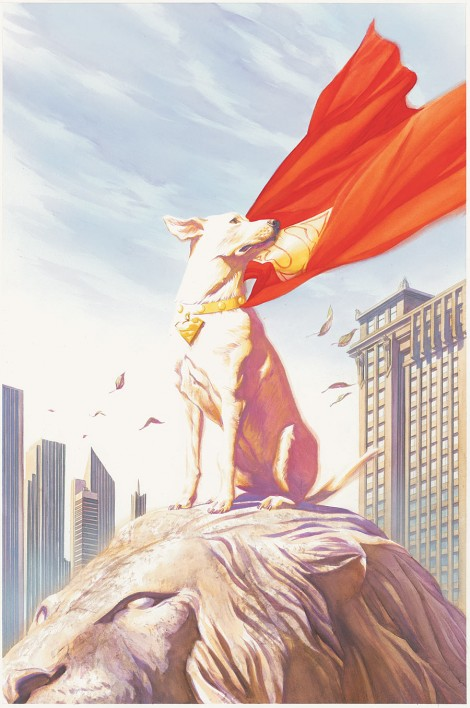 The first super pet was, of course, the partner to the first superhero