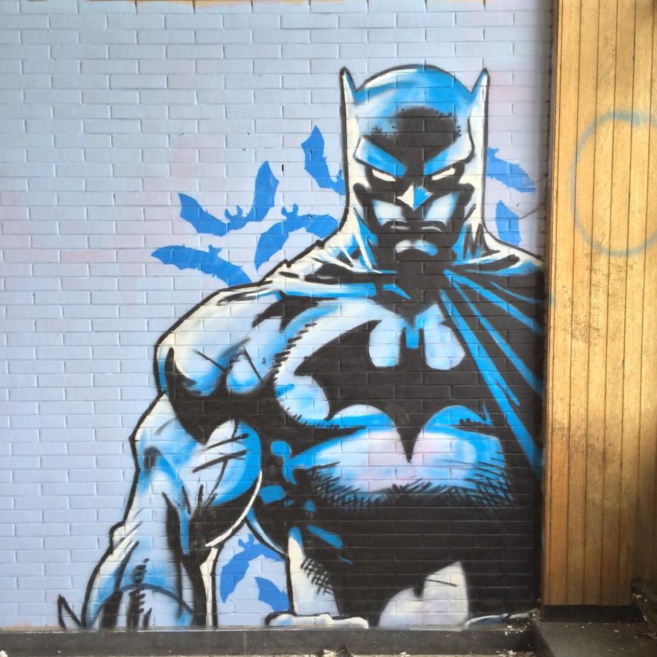 Batman Graffitti