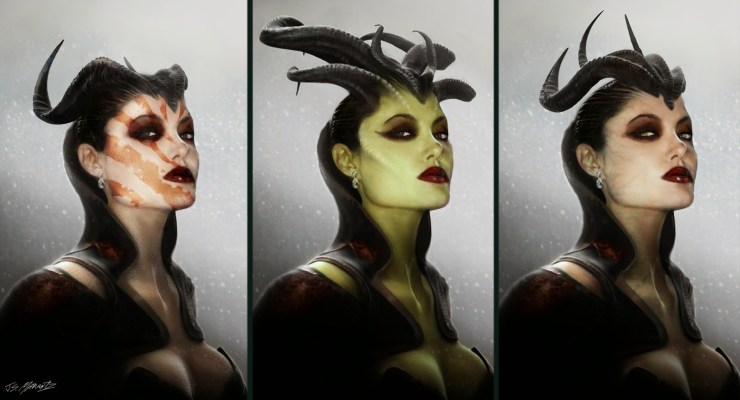 Maleficent concept art