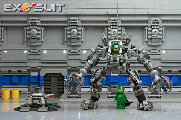 LEGO exo suit