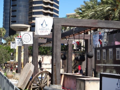 SDCC 214 - Assassin's Creed Unity obstacle course