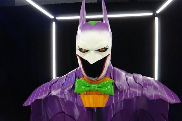 SDCC 214 - Batman Cape and Cowl exhibit - The Joker