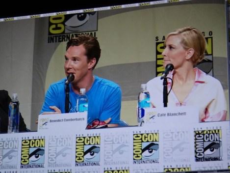 SDCC 2014 - Hobbit Benedict Cumberbatch and Cate Blanchett