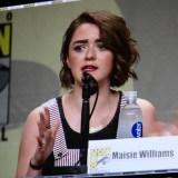 SDCC 2014 - Maisie Williams Game of Thrones