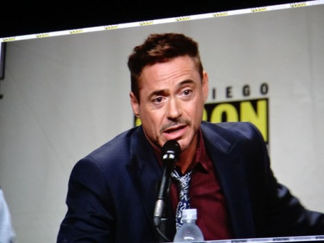 SDCC 2014 - Marvel Avengers Robert Downey Jr