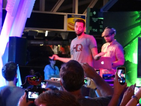 SDCC 214 - Zachari Levi at Nerd HQ party