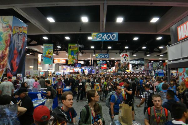 SDCC 2014 Comic-Con show floor crowd
