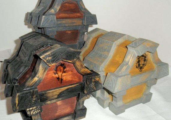 World of Warcraft treasure chest