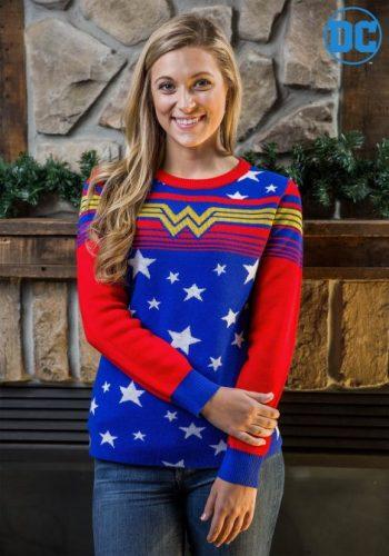 geeky ugly christmas sweater