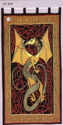 Celtic Dragon Drapes