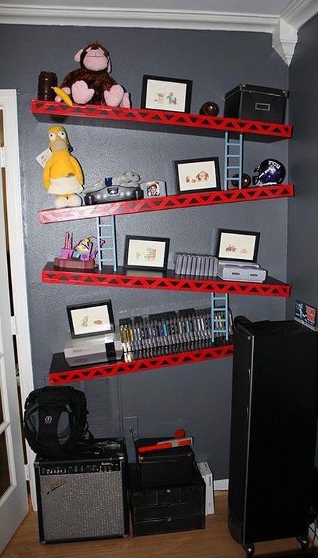 nerdy bookshelves