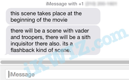 Star Wars Episode VII Leaks