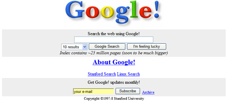 google original design