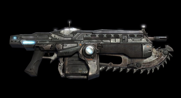 badass video game weapions