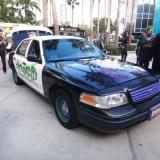 Long Beach Comic Expo 2015 - The Joker's stolen police car
