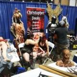 Long Beach Comic Expo 2015 - horror makeup exhibit