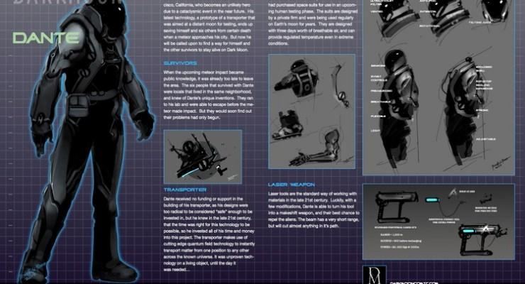 dark moon indie motion comic