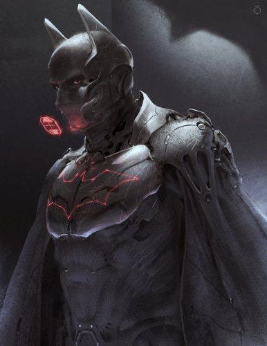 awesome batman fan art
