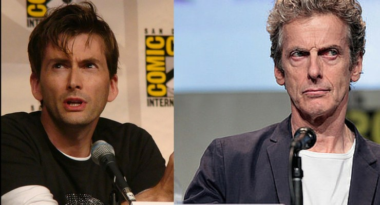 David Tennant Peter Capaldi mashup