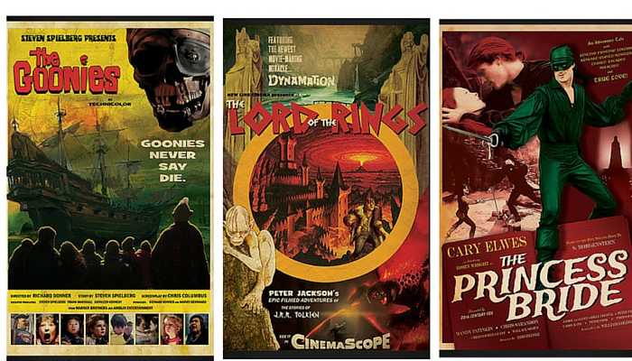 retro movie posters featured image
