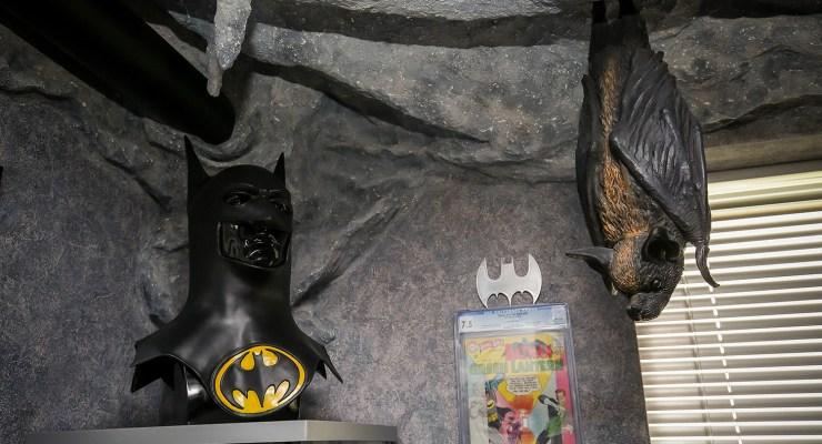 batman fan's cave