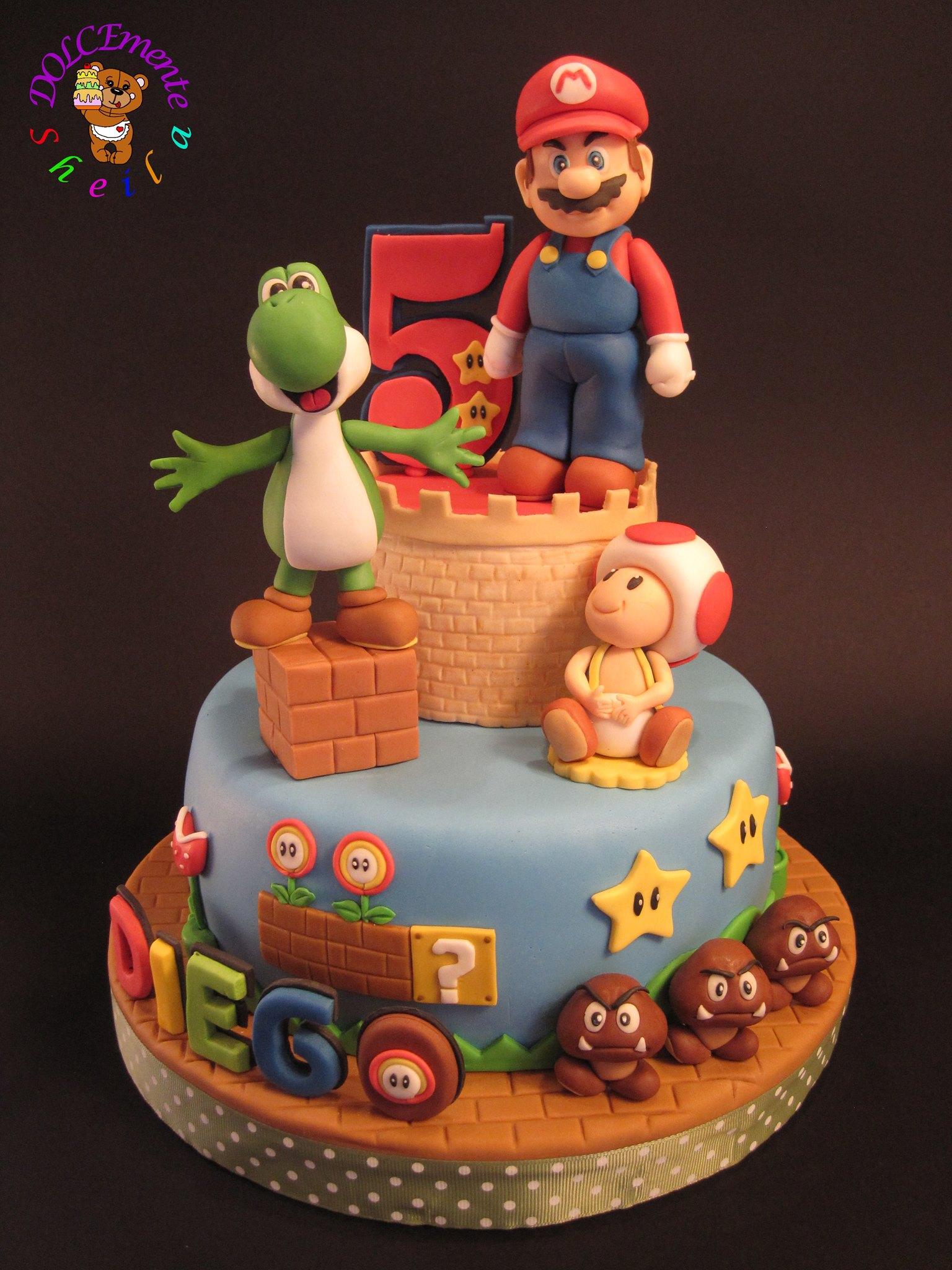 Fandomfriday Coolest Super Mario Cakes