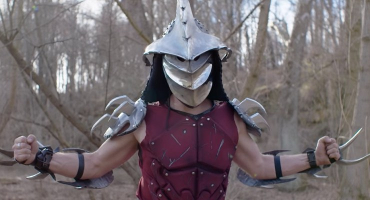 shredder helmet