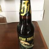 Star Trek beer bottle