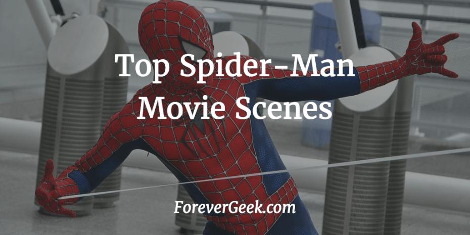 spider-man movie scenes