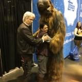Star Wars Celebration Orlando 2017 - Han, Leia, Chewie