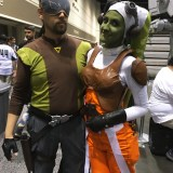 Star Wars Celebration Orlando 2017 - Rebels Kanan and Hera