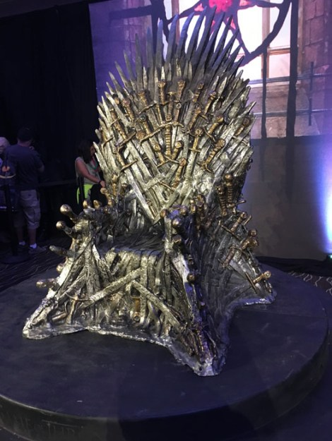 SDCC 2017 - Game of Thrones Iron Throne