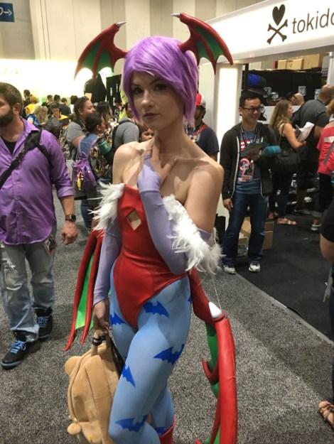 SDCC 2017 - cosplay Morrigan