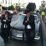 SDCC 2017 - cosplay Blues Brothers