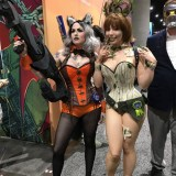 SDCC 2017 - cosplay Rocket and Groot