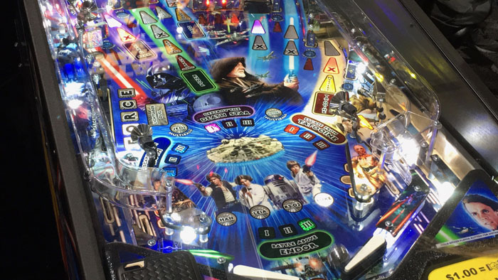 SDCC 2017 - Stern Pinball Star Wars table