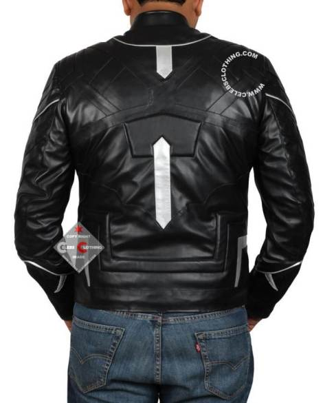 black panther jacket back