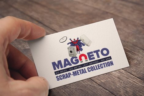 movie characters business card