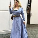 Comic-Con Revolution cosplay - Dolores of Westworld