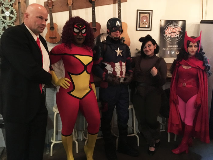 Comic-Con Revolution cosplay at Strum Brewing Company