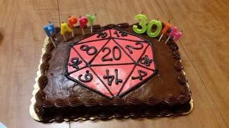 geek culture cake