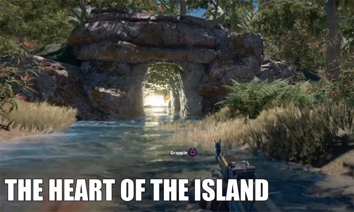 Lost island - Far Cry 5 custom map