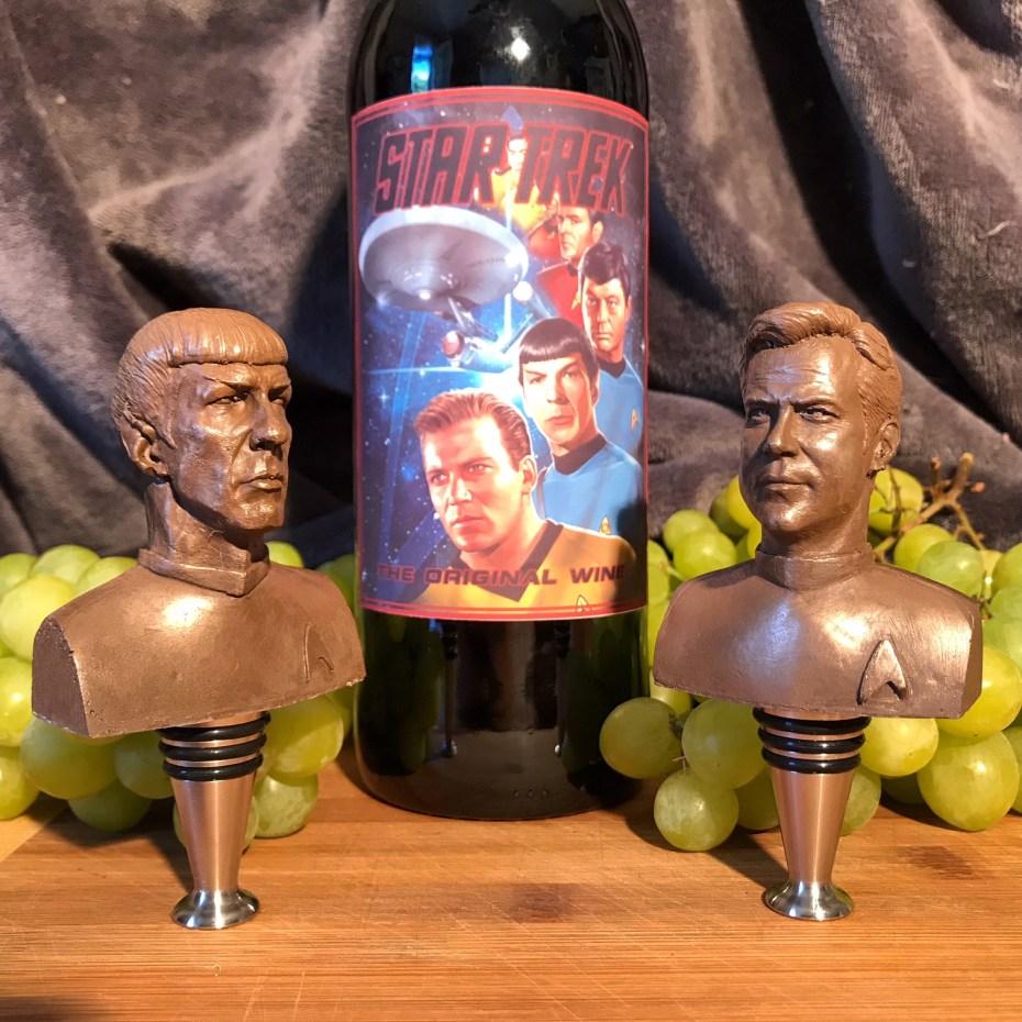 Star Trek wine stoppers