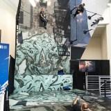 E3 2018 - Spider-Man mirror wall