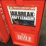 E3 2018 - Spider-Man newspaper