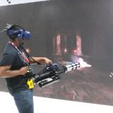 E3 2018 - VR gatling gun demo