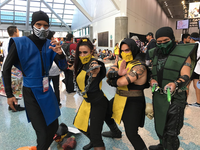 Anime Expo 2018 S Best Cosplayers Show Their Stuff Forevergeek