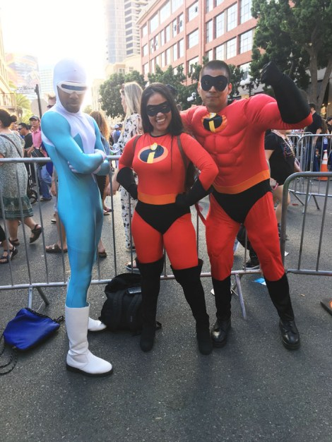 SDCC 2018 - Frozone and the Incredibles