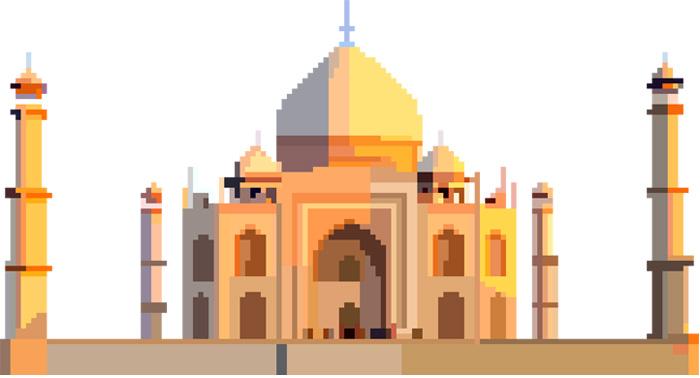 Pixel Scale Buildings